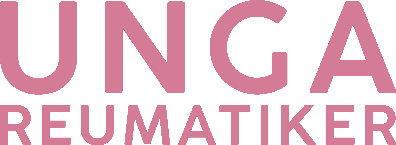 Unga Reumatiker logotyp rosa 300 ppi