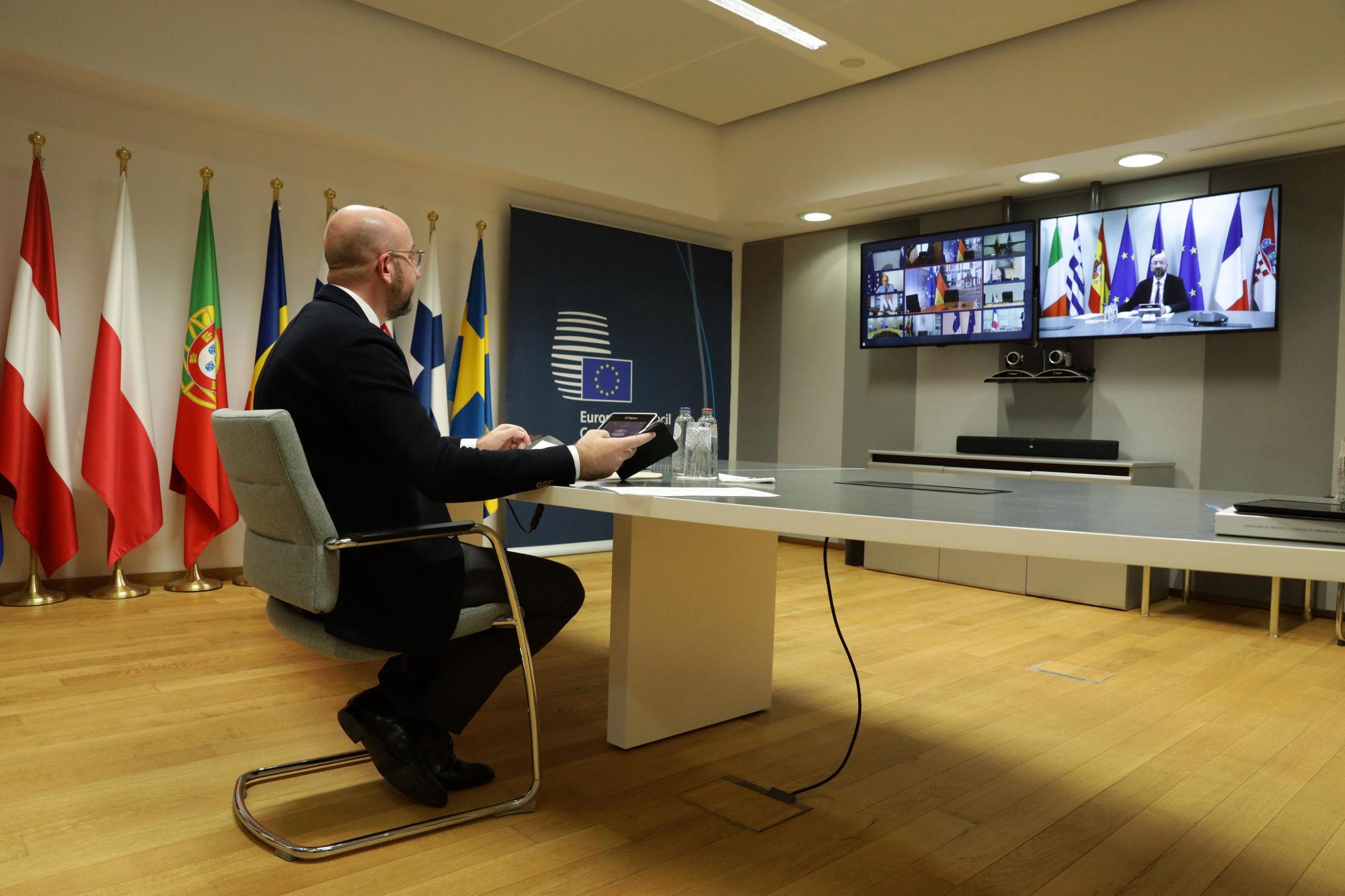 De virtuele eurotop van 26 maart