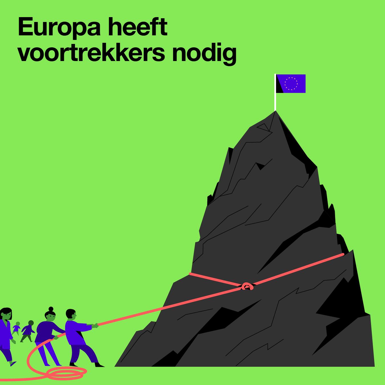 Europa heeft voortrekkers nodig