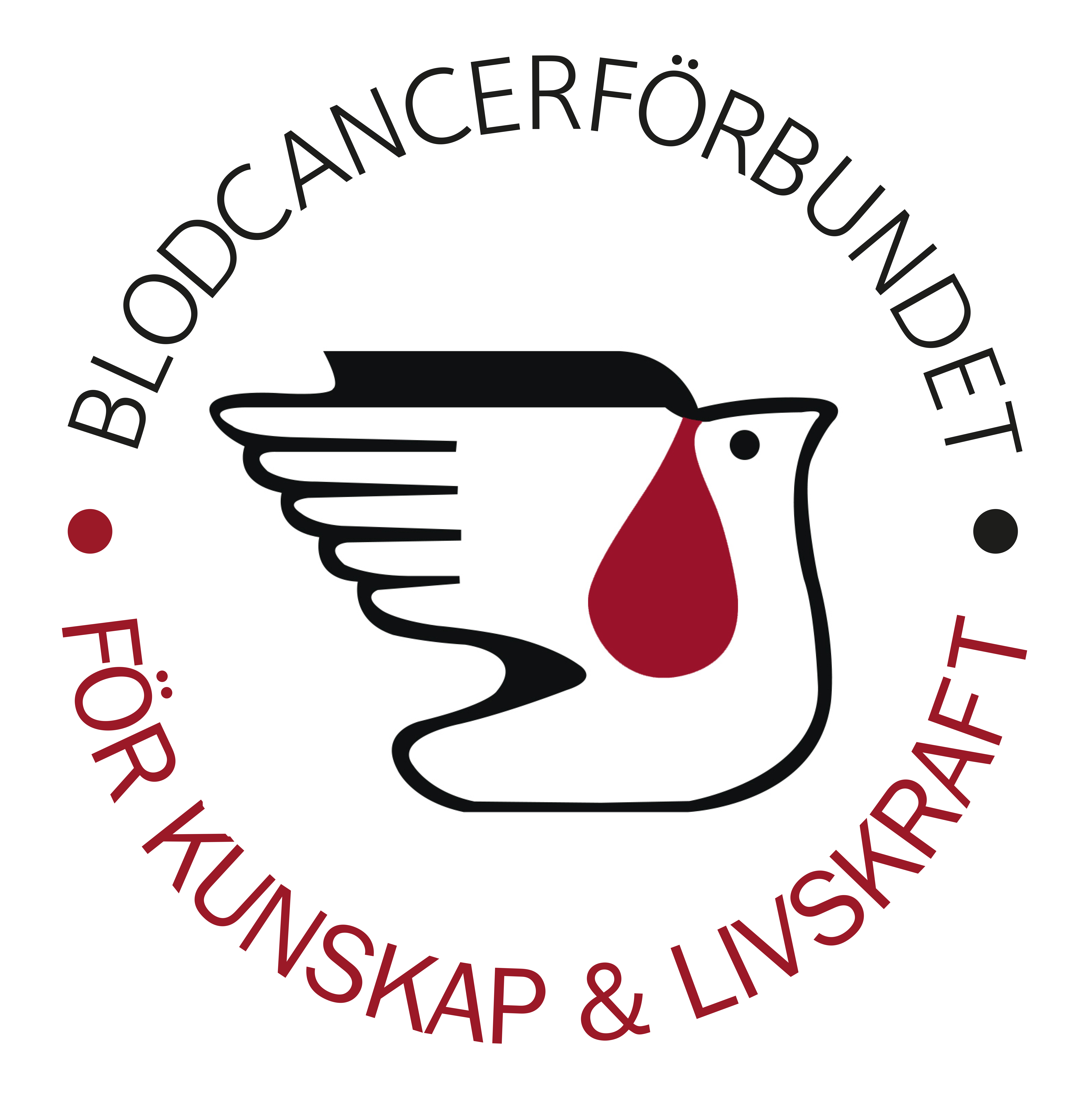 Blodcancerförbundet Logga Pantone 201