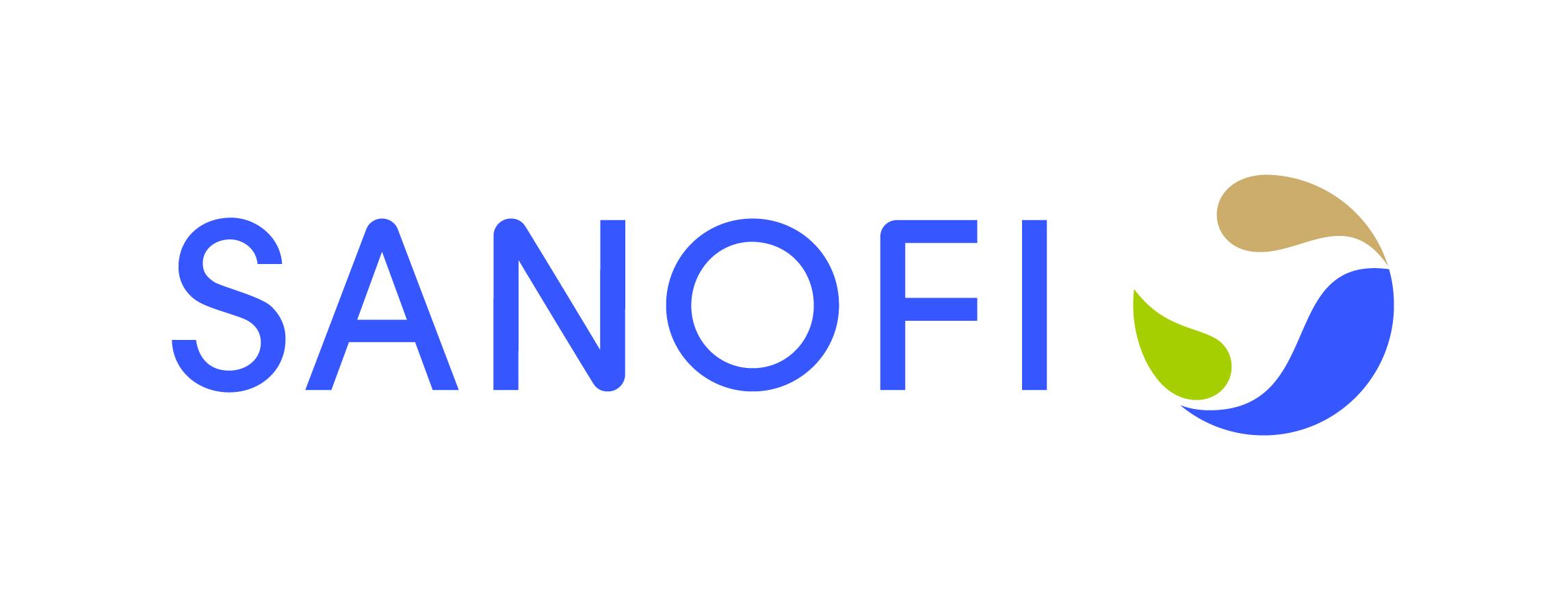 SANOFI Logo horizontal CMJN